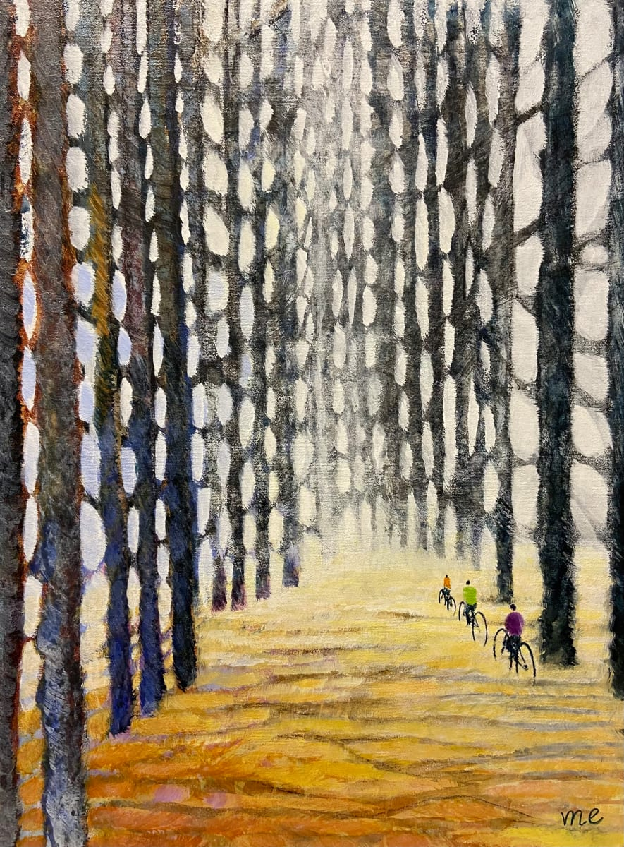 Cycling through our Glorious Cathedral by Marianne Enhörning