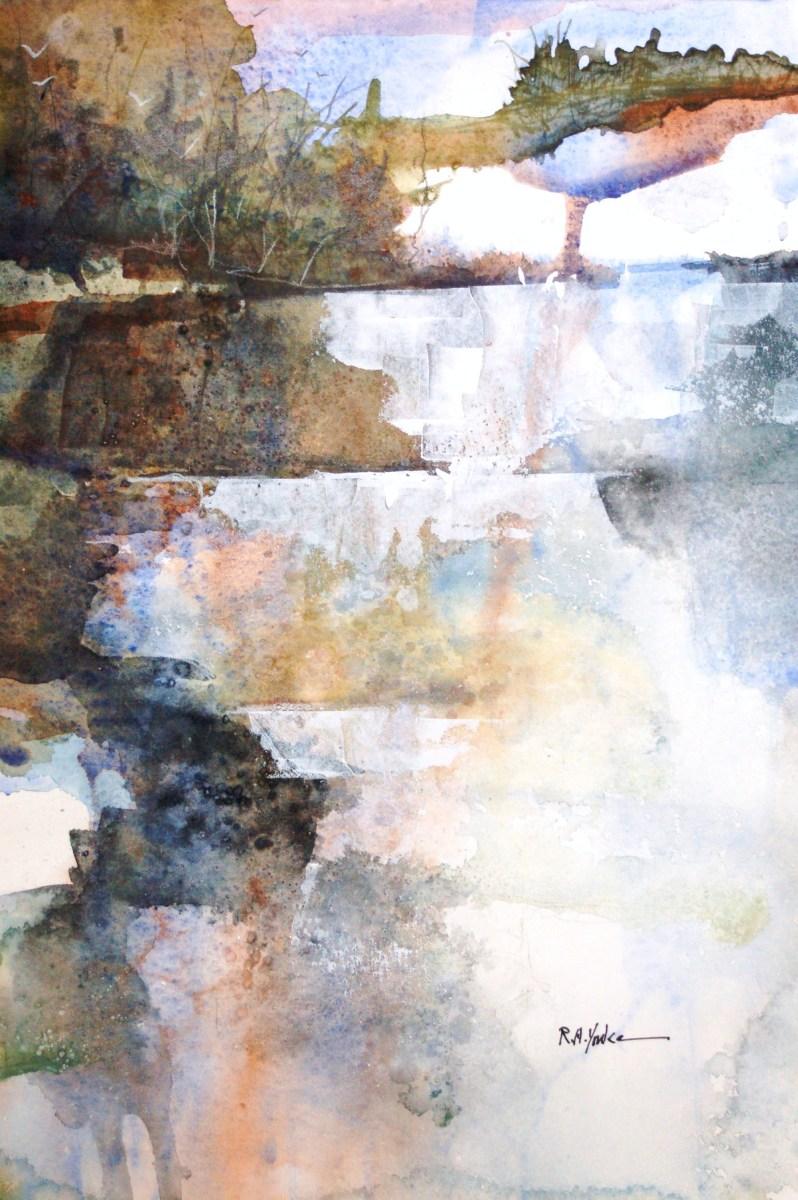 Appalachian Falls by Robert Yonke
