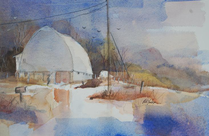 Beehive Barn by Robert Yonke