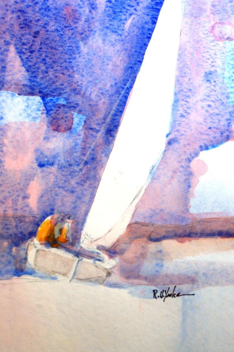 Blue Wind by Robert Yonke