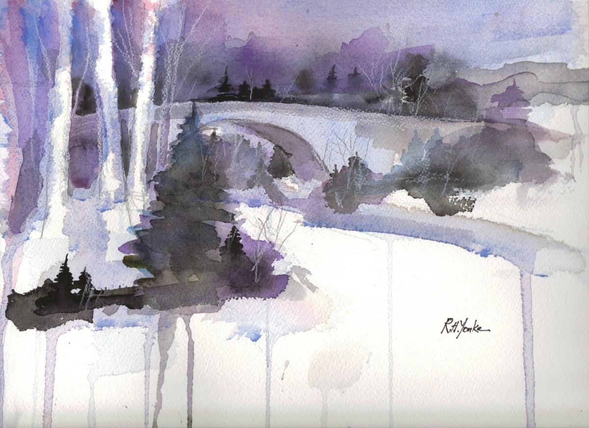 Casselman in Winter by Robert Yonke