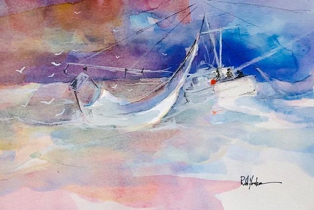 """""""Following Sea"""" by Robert Yonke"""