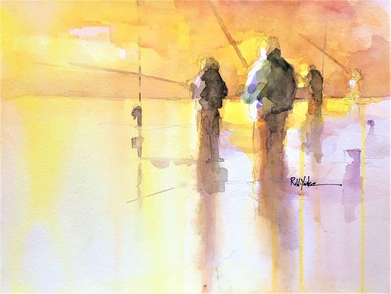 On the Beach by Robert Yonke