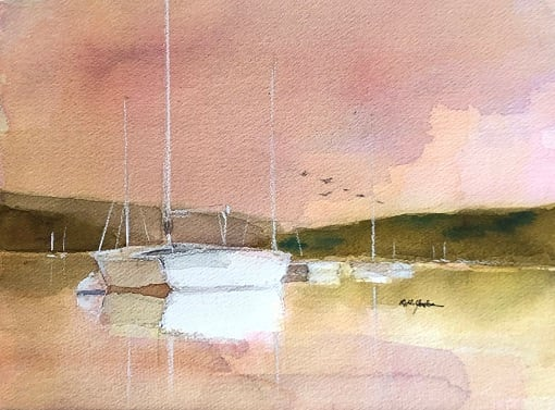 Scots on Water by Robert Yonke