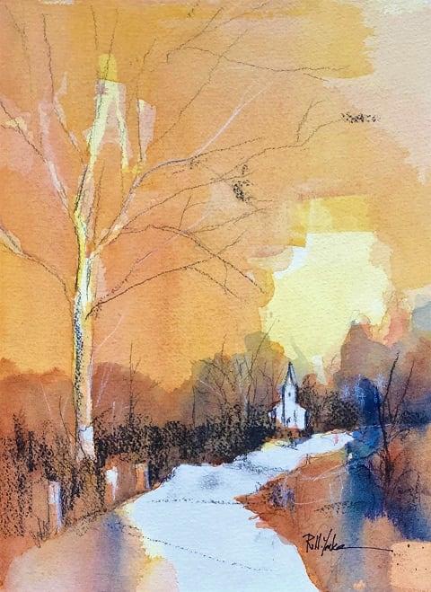 Stemple Ridge Road by Robert Yonke
