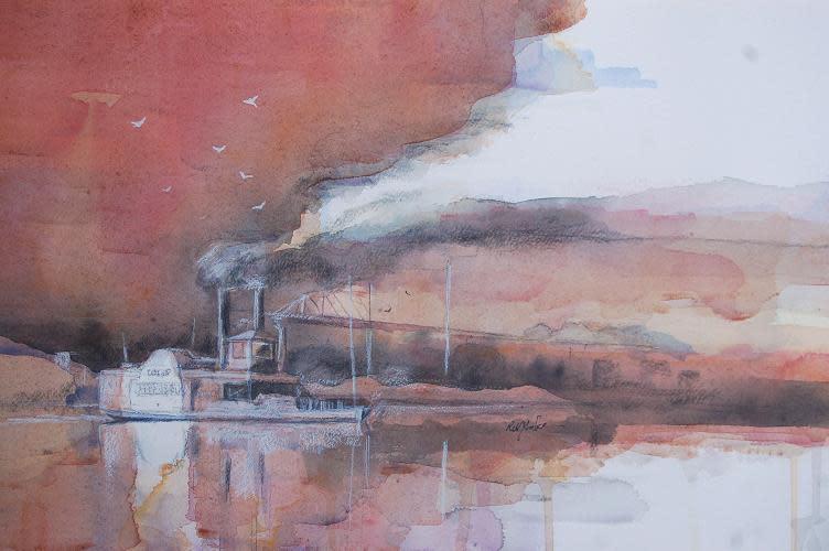At The Landing by Robert Yonke
