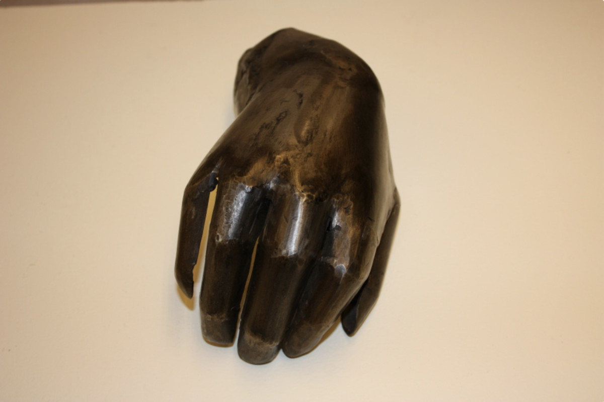 Hand by Magdalena Abakanowicz
