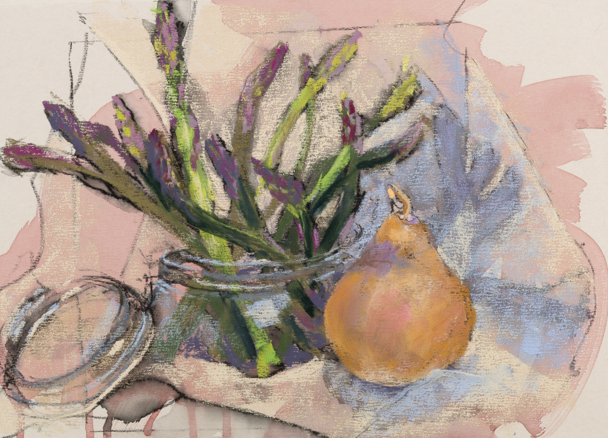 A Lovely Bunch of Asparagus by Sandy Marvin