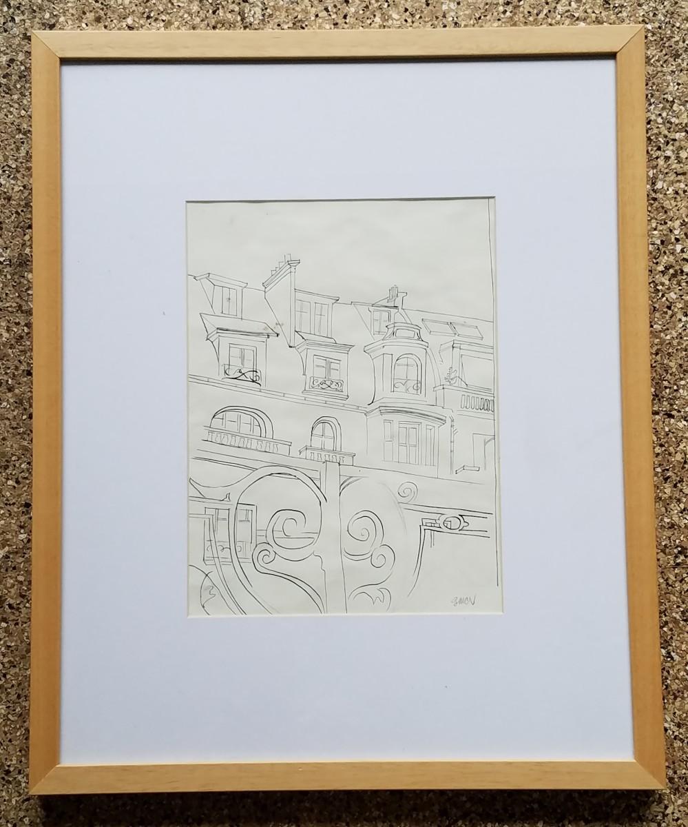 Building Sketch: Paris