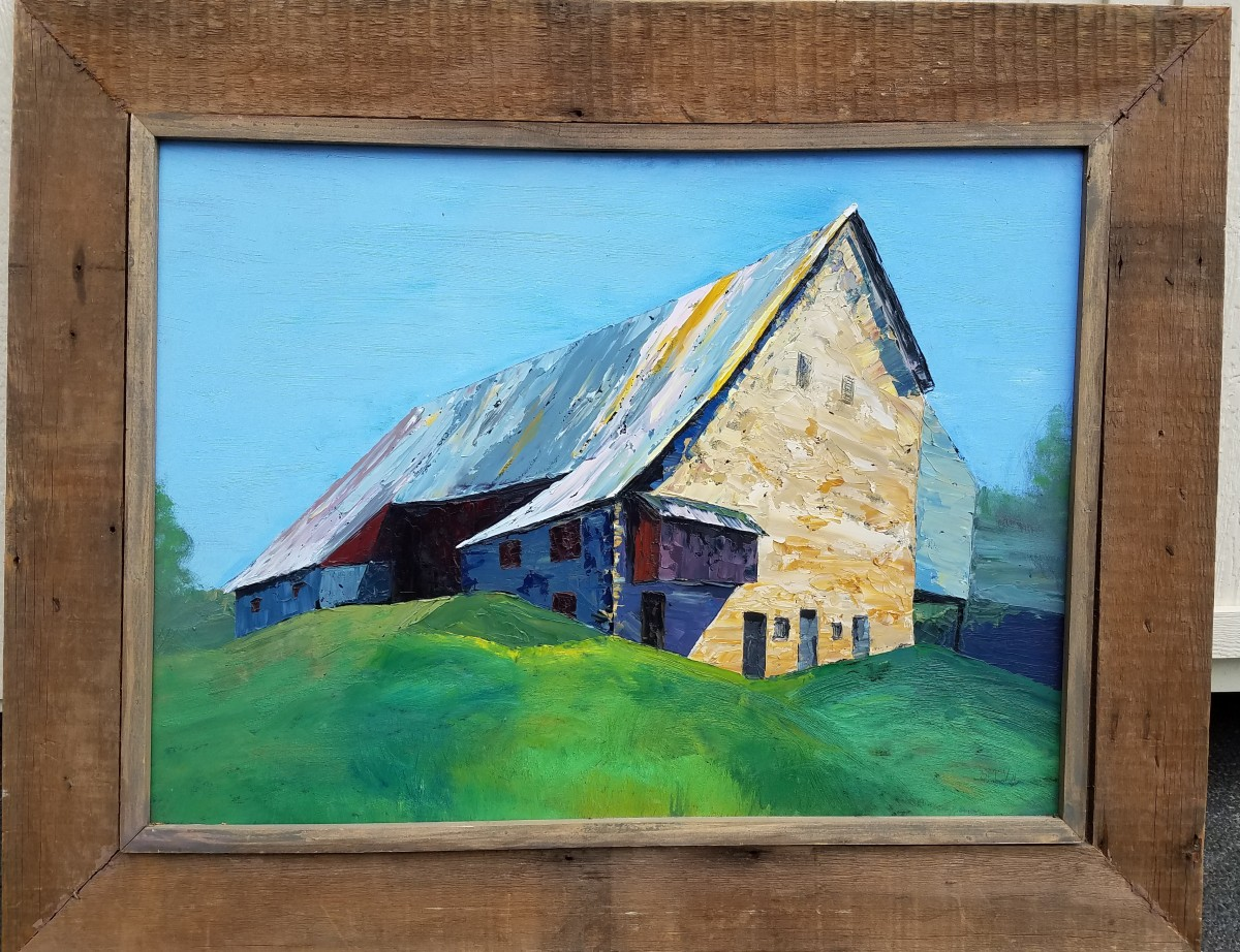 Great Barn at Arrandale - Second Look