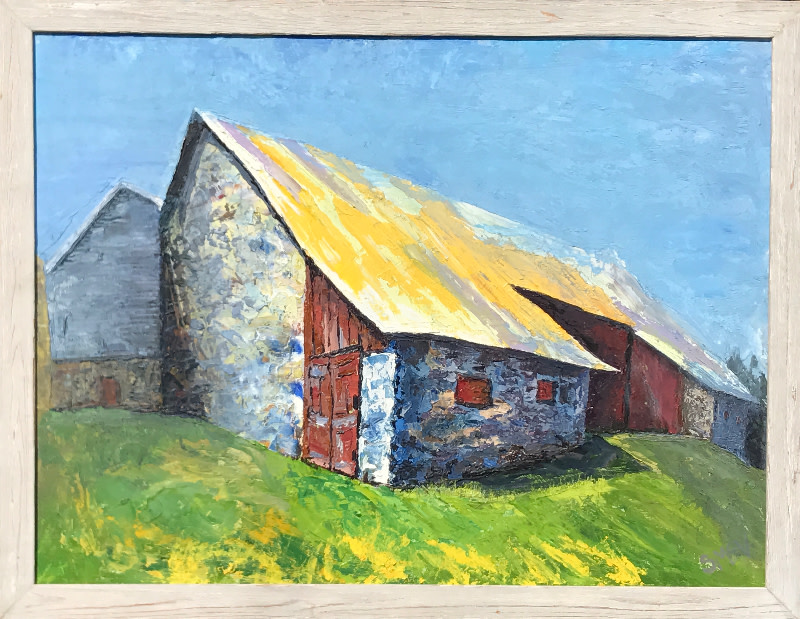 Cornered; Yellow Roof: 11 AM Noon; Great Barn at Arrandale