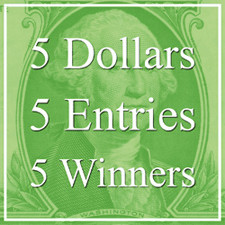 """5 Dollars, 5 Entries, 5 Winners! – """"Special"""" Art Competition"""