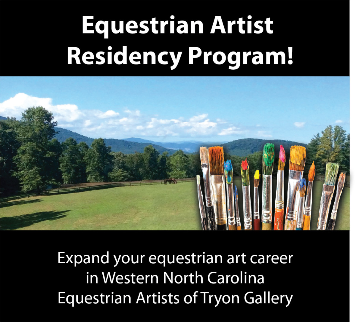 Equestrian Artist Residency Program