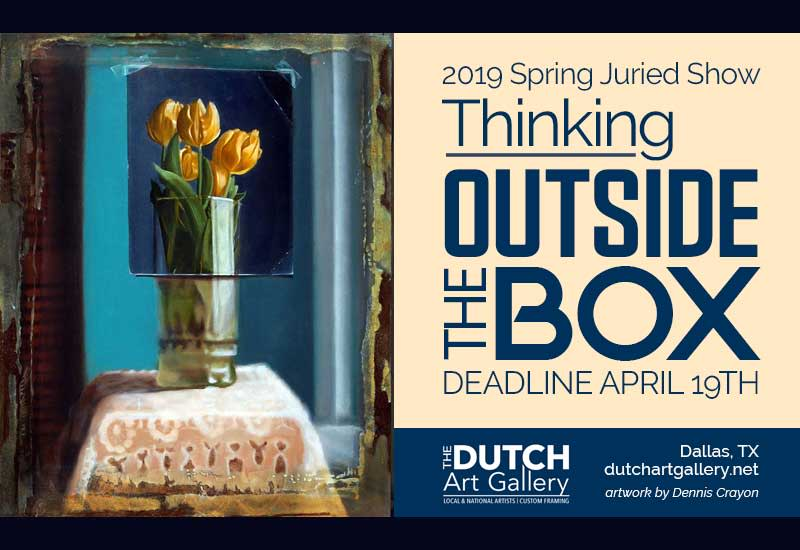 """Thinking Outside the Box"" Juried Show"