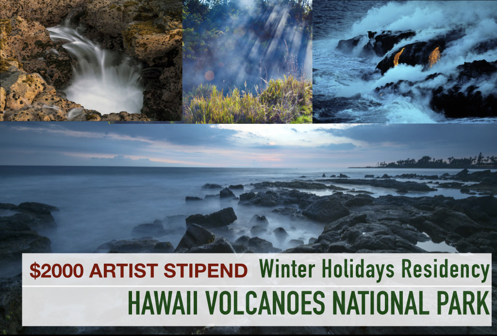 WINTER HOLIDAYS AT HAWAII VOLCANOES ($2000 Stipend) 2019-2020