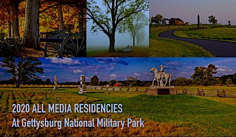 Gettysburg National Military Park 2020 Residencies (with $1000 stipend)