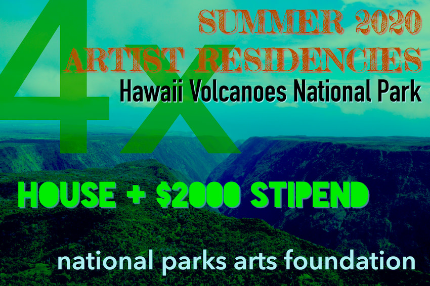 Call For Entry Summer 2020 Residencies At Hawai I Artwork Archive