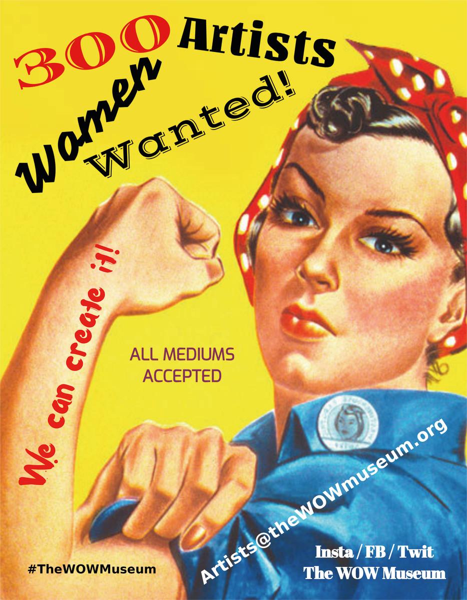 RIVETER: MESSAGE TO ALL WOMEN ARTISTS
