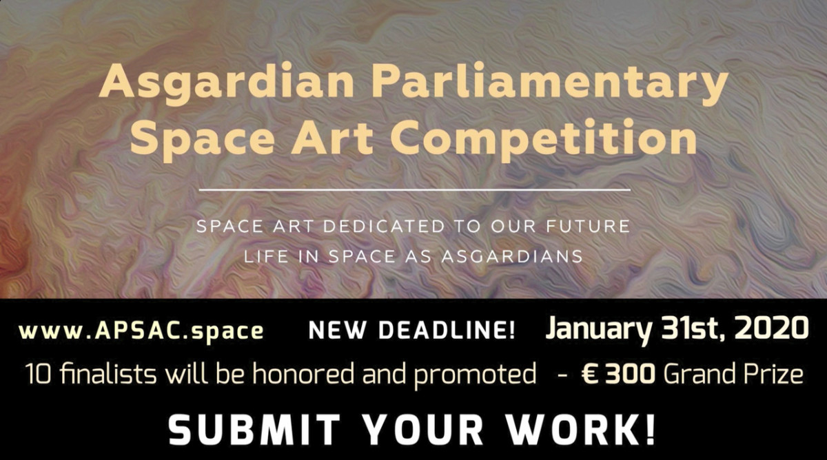 Asgardian Parliamentary Space Art Competition