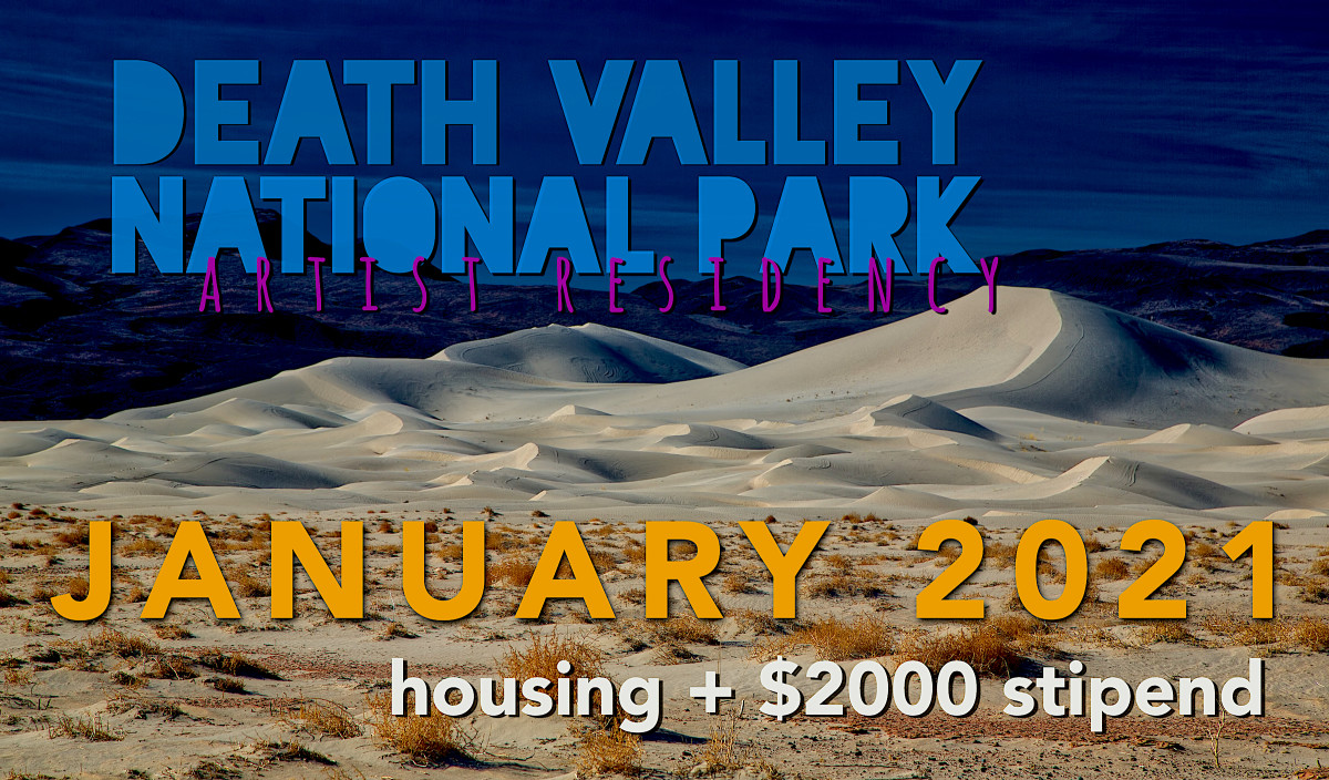 DEATH VALLEY NATIONAL PARK JANUARY 2021 (w $2000 stipend)
