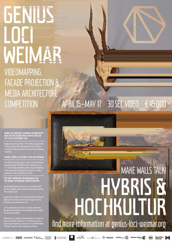 Genius Loci Weimar 2020 | Deadline Extended