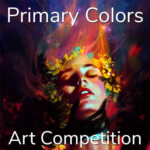 """2nd Annual """"Primary Colors"""" Online Art Competition"""