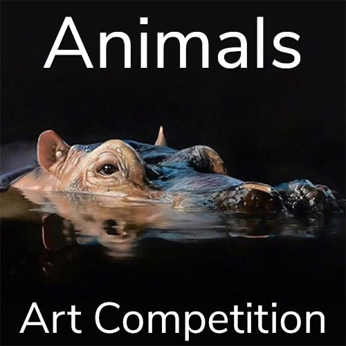 """10th Annual """"Animals"""" Online Art Competition"""
