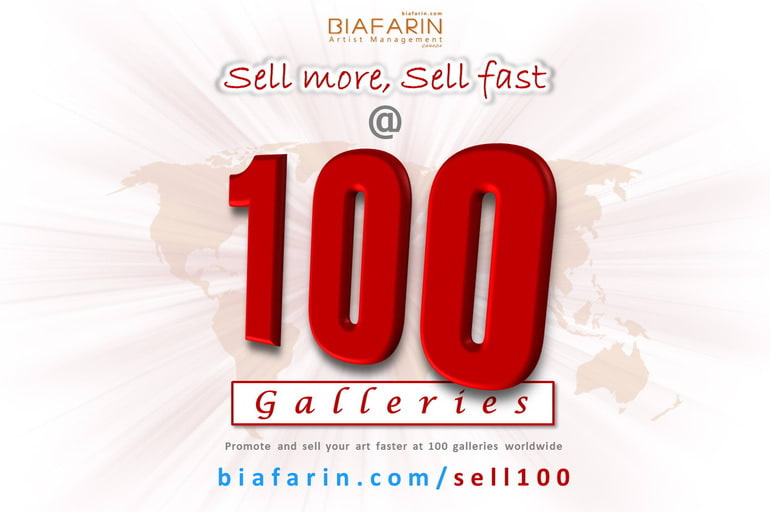 Sell @ 100 Galleries: Annual Sales Festival