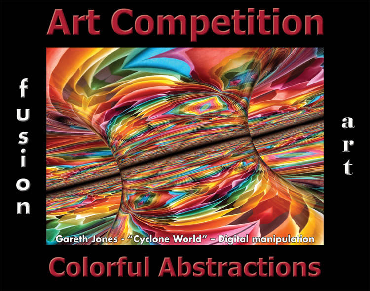 6th Annual Colorful Abstractions Art Competition