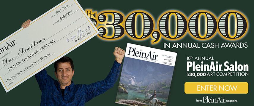 PleinAir Salon $30,000 Monthly Art Competition