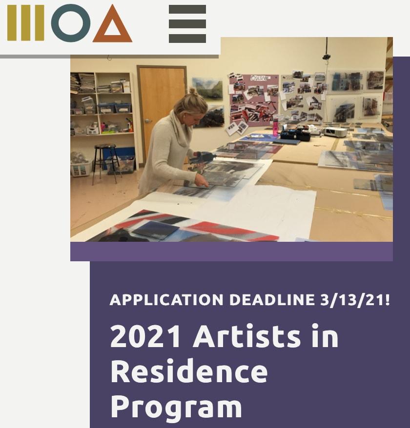 2021 Artists in Residence Program