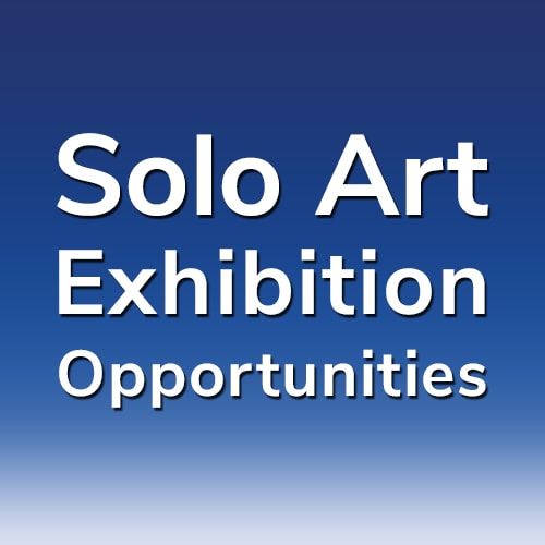 """18th """"Solo Art Series"""" – Online Solo Art Exhibition Opportunity"""