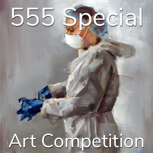 """3rd Annual """"5 Dollars, 5 Entries, 5 Winners"""" – Summer Special Art Competition"""