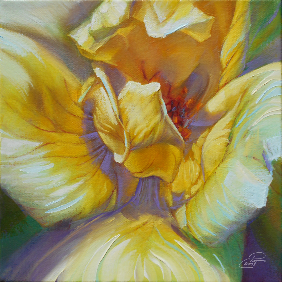 Golden Delight by Pat Cross