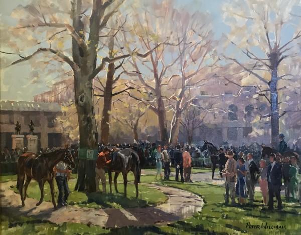 Keeneland Paddock, Early Spring
