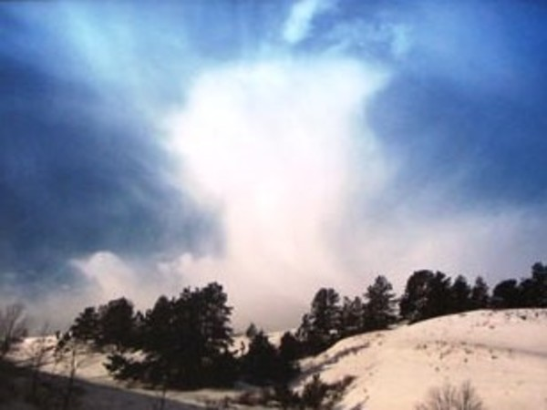 South of Valentine, Cherry County, Nebraska - January 26, 1988