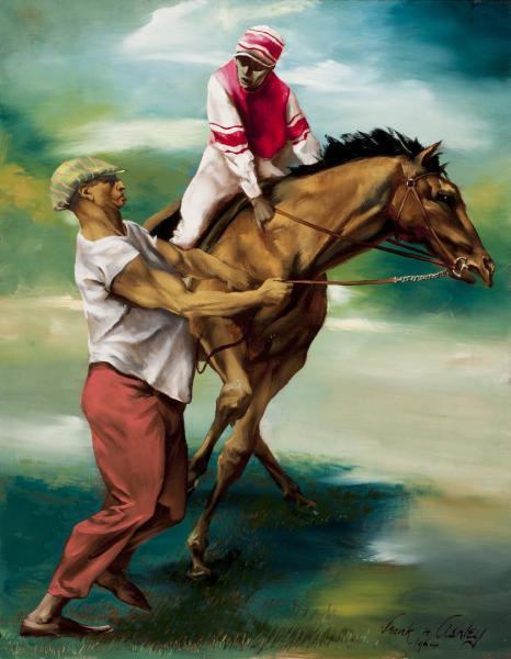 Jockey & Groom