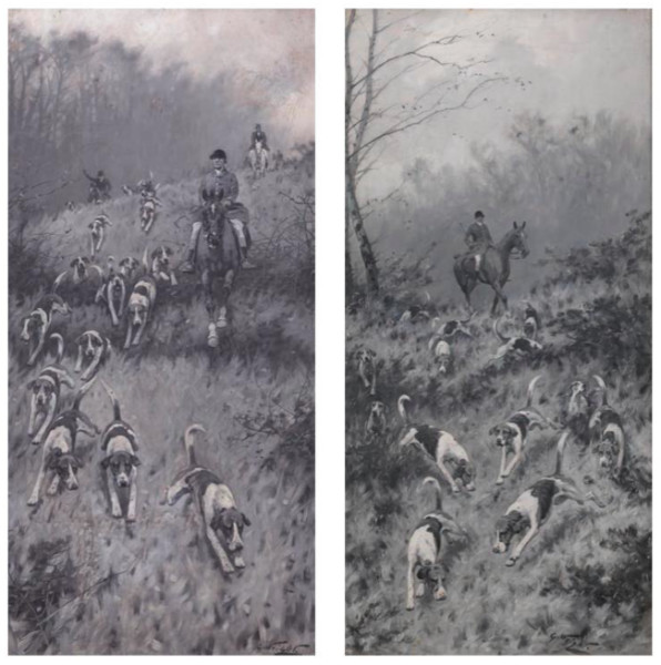 Foxhunting (two works)