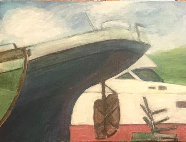 539- Boats- Charleston dry dock