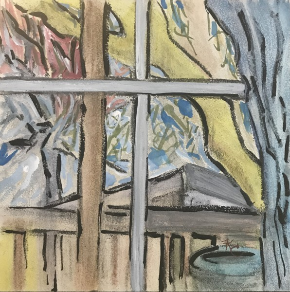 148 - Fall Progression - The Shed -  Winter/ Final
