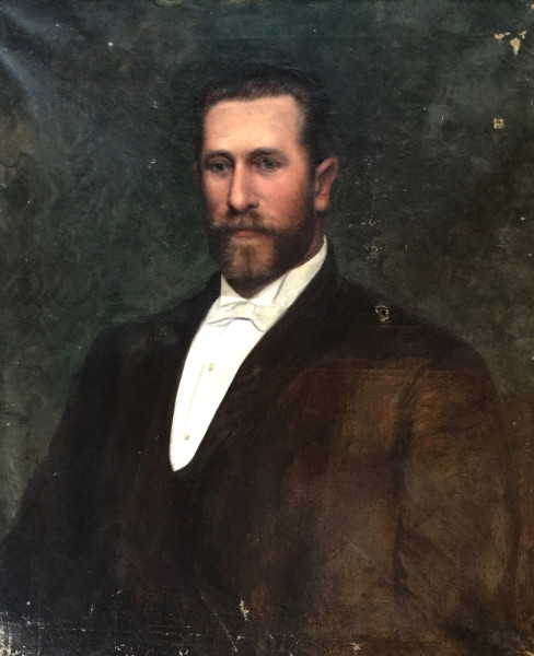Swiss School, Portrait of a Gentleman, c1900