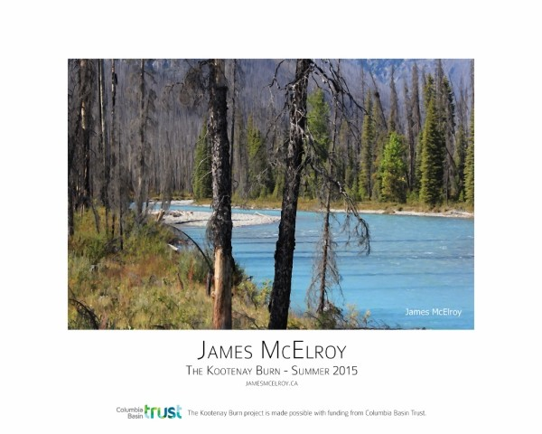 Kootenay Burn - A Four Seasons Framed Poster Series - Summer