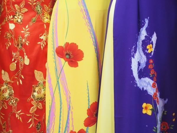 Silk Dress China Town II LA 2018