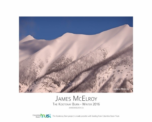 Kootenay Burn - A Four Seasons Framed Poster Series - Winter