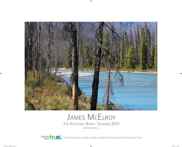 Kootenay Burn Poster - Summer