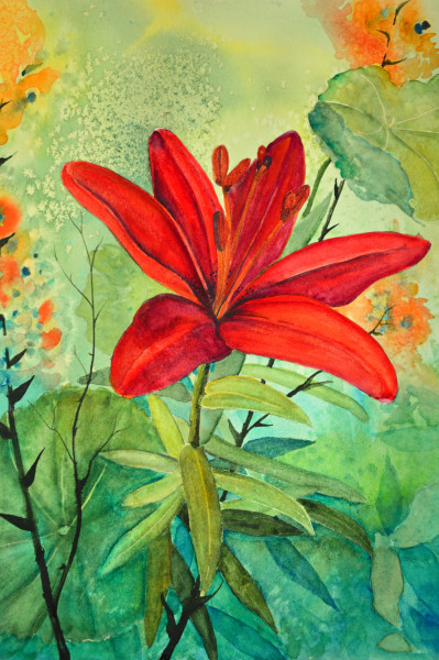 """Crimson Lily"""