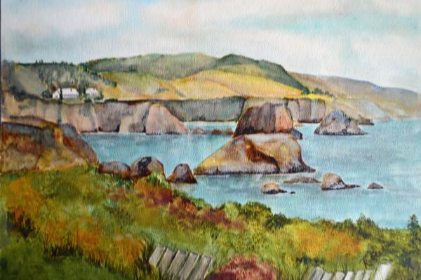 Pacific Coast Clliffs