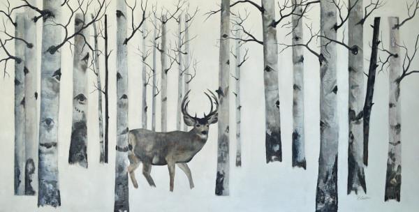 """Winter Aspen Grove"""