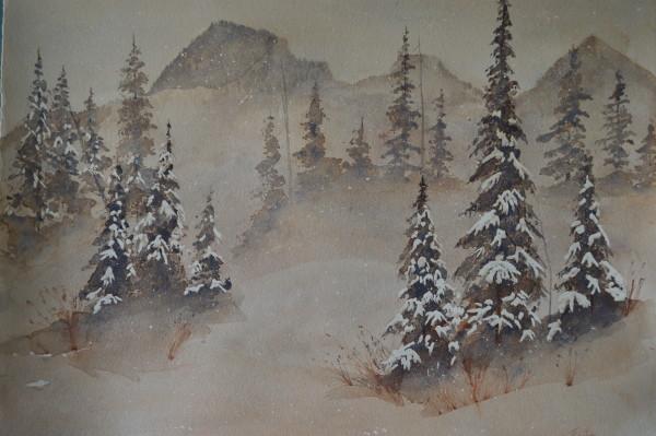"""""""Mountain Snow Storm"""""""