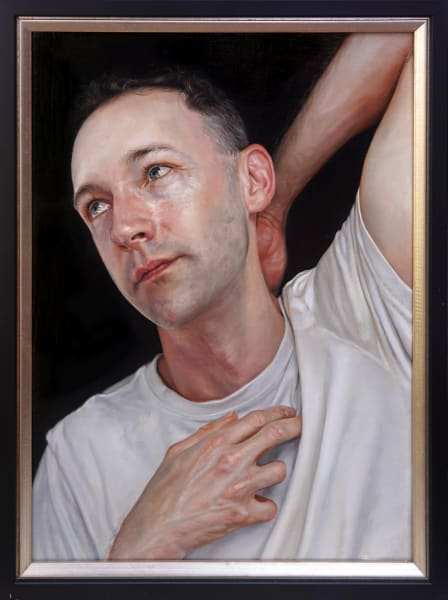 The Dying Slave (study) - portrait of Andrew Nicholls